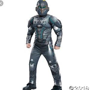 Boys Muscle Halo Spartan Locke Costume XL